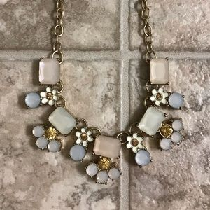 Jewelry - Gold and Pastel Necklace